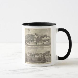 Germania Hotel, Long Branch and Hughes Brothers Mug