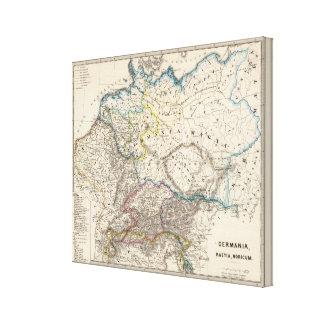 Germania, Raetia, Noricum Canvas Print