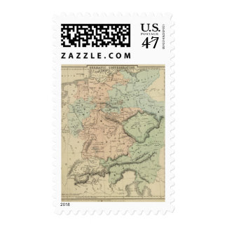 Germanic Confederation Postage