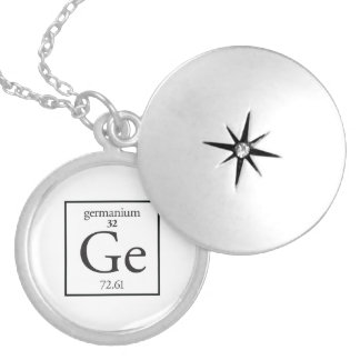 Germanium Silver Plated Necklace