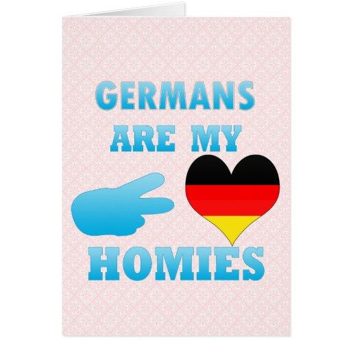 Germans are my Homies Cards
