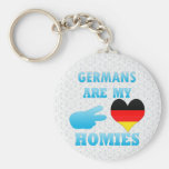 Germans are my Homies Keychain