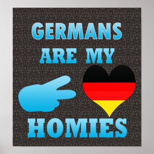 Germans are my Homies Print
