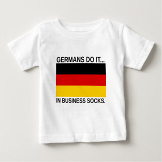 Germans Do It... In Business Socks Baby T-Shirt