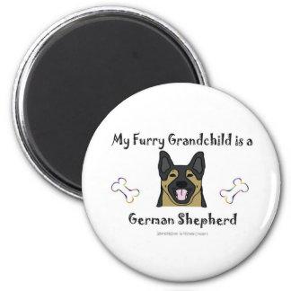 GermanShepherd 2 Inch Round Magnet