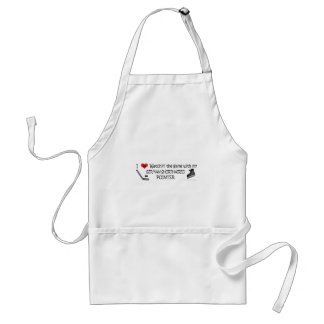 GERMANSHORTHAIREDPOINTER ADULT APRON