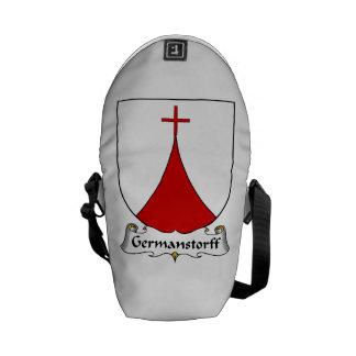Germanstorff Family Crest Messenger Bags