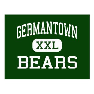 Germantown - Bears - High - Philadelphia Postcard