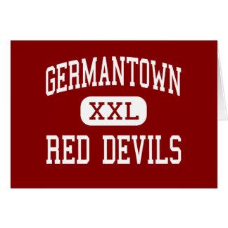 Germantown - Red Devils - High - Germantown Card