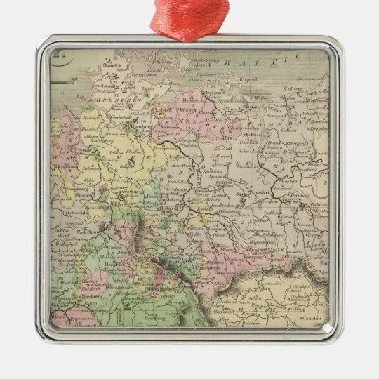 Germany 14 metal ornament