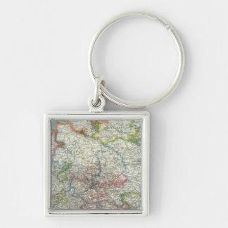 Germany 17 keychain