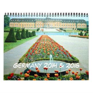 Germany 18 Month 2014 - June 2015 Travel Calendar