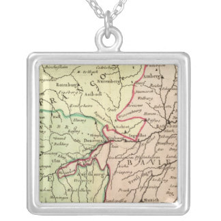 Germany 19 square pendant necklace