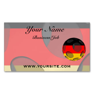 Germany #1 business card magnet