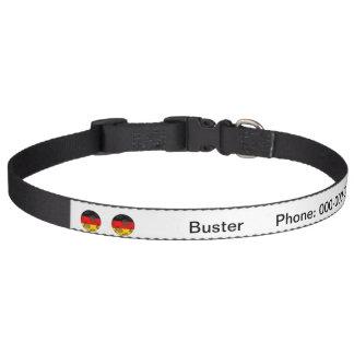 Germany #1 dog collar