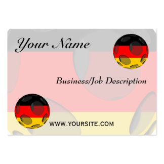 Germany #1 large business card