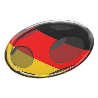 Germany #1 melamine plate
