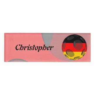 Germany #1 name tag