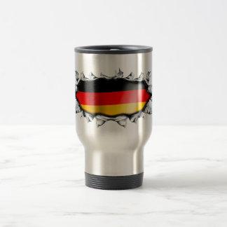 germany_1 taza de viaje de acero inoxidable