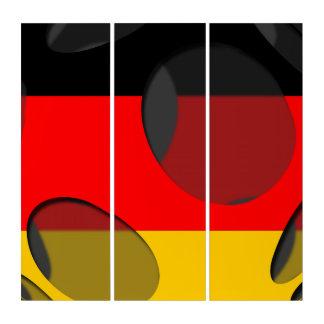 Germany #1 triptych