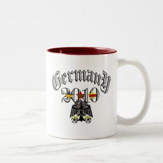 Germany 2010 logo tees and gifts coffee mugs