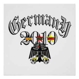 Germany 2010 logo tees and gifts posters