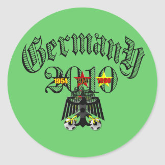 Germany 2010 logo tees and gifts stickers