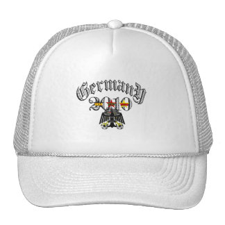 Germany 2010 logo tees and gifts trucker hats