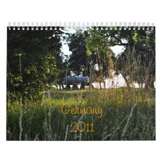 Germany 2011 calendar