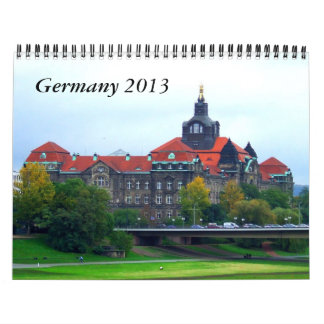 Germany 2013 Travel Calendar
