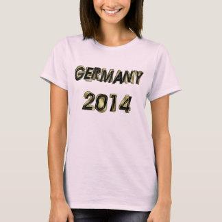 Germany 2014 Gold T-Shirt