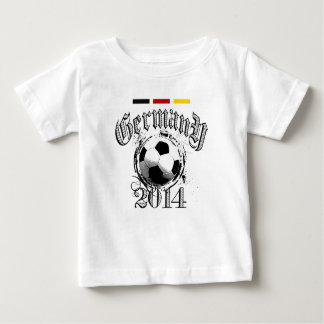 Germany 2014 Soccer ball German Flag Baby T-Shirt