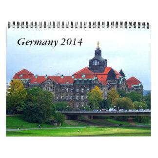 Germany 2014 Travel Calendar