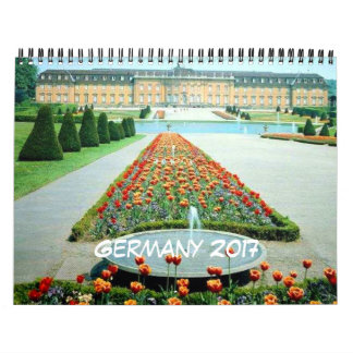 Germany 2017 Travel Calendar