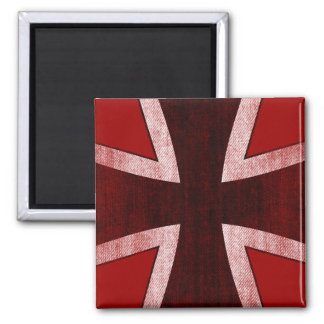 GERMANY 2 INCH SQUARE MAGNET