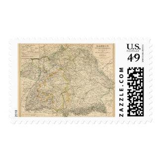Germany 2 stamp
