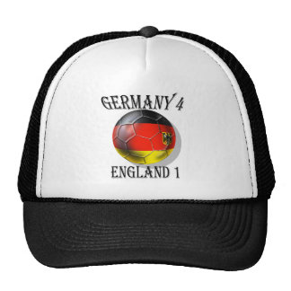 Germany 4 England 1 Soccer Football tees & gifts Trucker Hat