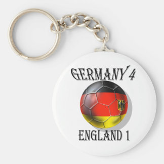 Germany 4 England 1 Soccer Football tees & gifts Keychains