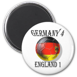 Germany 4 England 1 Soccer Football tees & gifts Refrigerator Magnet
