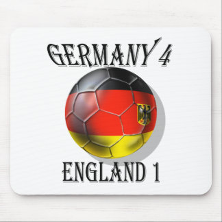 Germany 4 England 1 Soccer Football tees & gifts Mousepads