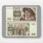 Germany 50 Mark Note Mouse Pad