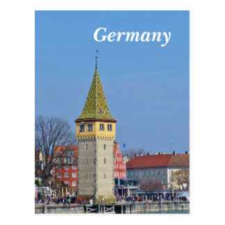 Germany Ancient Lighthouse - Postcard