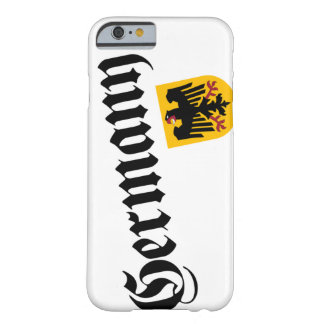 Germany and Crest iPhone 6 Case