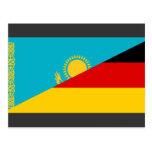 Germany and Kazakhstan, Kazakstan Postcard