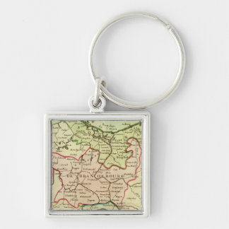 Germany and Poland Keychain
