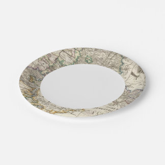 Germany and Prussia Paper Plate