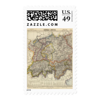 Germany and Switzerland Stamps