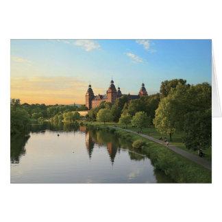 Germany, Aschaffenburg, Schloss (castle) Card