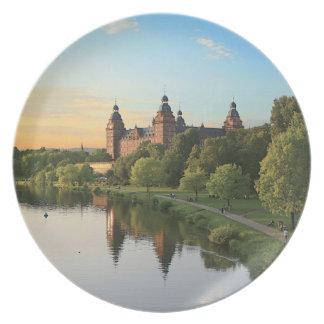 Germany, Aschaffenburg, Schloss (castle) Dinner Plate