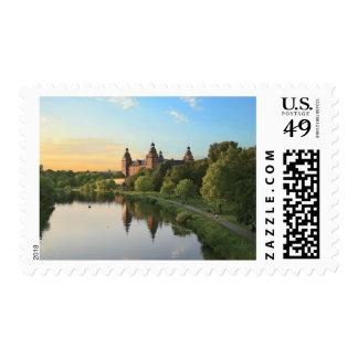 Germany, Aschaffenburg, Schloss (castle) Postage